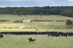 Ordna till för krig på Gettysburg Royaltyfri Foto