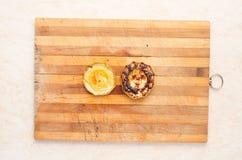 Ordna till maträtten sund mat bakade grönsaker lagade mat grönsaker Arkivfoton