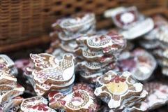 ordnad pepparkakaförsäljning Fotografering för Bildbyråer
