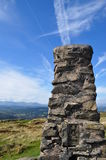 Ordnance Survey Trig Point in the Lake District Stock Photo