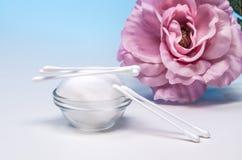 Ordning av produkter för personlig hygien 5 Arkivbild
