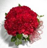 Ordning för röda rosor för valentin royaltyfria bilder
