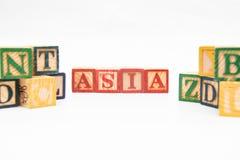 Ordningen av bokstäver bildar ett ord, version 50 Royaltyfri Foto