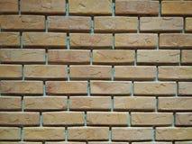 Ordningen av tegelstenväggen arkivbild