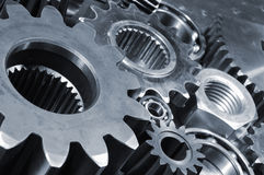 ordningen gears industriellt Arkivbild