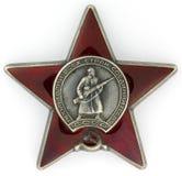 Ordnung des roten Sternes Stockfotografie