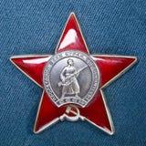 Ordnung des roten Sternes Lizenzfreie Stockfotografie