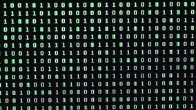 ordre aléatoire des nombres sur le moniteur de PC banque de vidéos