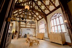 Ordsall Hall The Great Hall Royalty Free Stock Photography