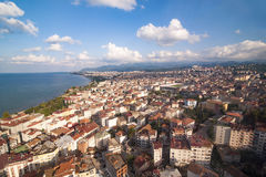 Ordu city scape above from boztepe Karadeniz Stock Photo