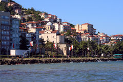 Ordu. Old city. (Turkey) Stock Photography