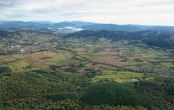 Ordunavallei en omgeving, rotatie royalty-vrije stock afbeeldingen