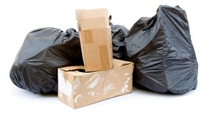 ordures photo stock