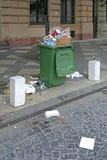 Ordures de déchets photographie stock libre de droits