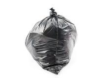 ordures noires de sac images libres de droits