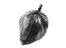 ordures noires de sac photographie stock libre de droits