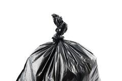 ordures noires de sac image stock
