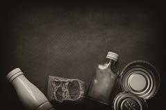 ordures ordures ménagères, ambiant et élimination des déchets L'espace disponible Photos stock