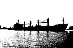 Ore Carrier Royalty Free Stock Photo