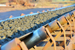 Ore conveyor Stock Photos