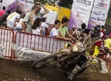 24 ORE DI MOTOCROSS DI CORSA DI RESISTENZA Fotografie Stock Libere da Diritti