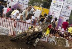 24 ORE DI MOTOCROSS DI CORSA DI RESISTENZA Fotografia Stock