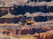 Ore extraction Stock Photography