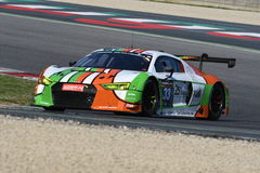 12 ore Hankook Mugello 18 March 2017: #34 Car Collection Motorsport, Audi R8 LMS Royalty Free Stock Images