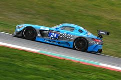 12 ore Hankook Mugello 18 March 2017: #34 Car Collection Motorsport, Audi R8 LMS Stock Images