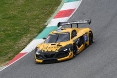 12 ore Hankook Mugello 18 March 2017:#27 GP Extreme, Renault RS01 GT3. Stock Images