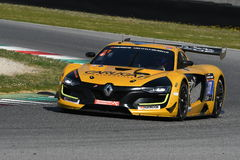 12 ore Hankook Mugello 18 March 2017:#27 GP Extreme, Renault RS01 GT3. Royalty Free Stock Photos