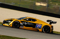 12 ore Hankook Mugello 18 March 2017:#27 GP Extreme, Renault RS01 GT3. Stock Photo