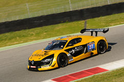 12 ore Hankook Mugello 18 March 2017:#27 GP Extreme, Renault RS01 GT3. Royalty Free Stock Photography