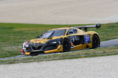 12 ore Hankook Mugello 18 March 2017:#27 GP Extreme, Renault RS01 GT3. Royalty Free Stock Photo