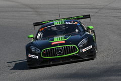 12 ore Hankook Mugello 18 March 2017: #38 MS Racing, Mercedes AMG GT3. Royalty Free Stock Photography