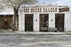 Ore House Saloon in  Ione Nevada. Historic saloon in ghost town of Ione, Nevada Stock Image