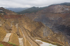 Ore mining Stock Photo