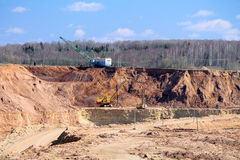 Ore mining Stock Images