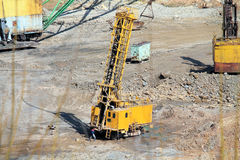Ore mining Stock Image