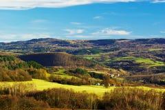 Ore mountains stock photo