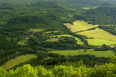 Ore mountains Stock Photo