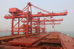 Ore terminal Royalty Free Stock Images