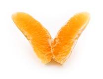 Oreange come farfalla immagini stock
