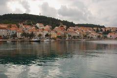 orebic的克罗地亚 免版税库存图片