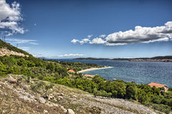 Orebic beach in Croatia Stock Images