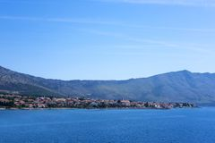 Orebic, Dalmácia fotografia de stock