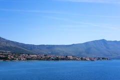 Orebic, Dalmazia fotografia stock