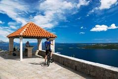 Orebic Kroatien Lizenzfreies Stockfoto