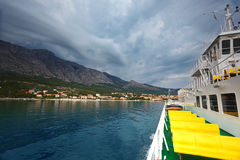 Orebic peninsula. Croatia. Royalty Free Stock Images