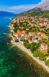Orebic town in Croatia Stock Photography
